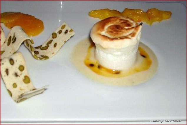 Sweet Temptation: Floating island dessert at the Oxo Tower