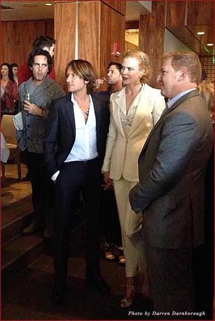 Nominee Nicole Kidman and husband Keith Urban