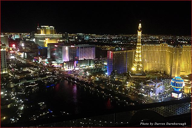 The Cosmopolitan, one of Vegas' few balcony rooms