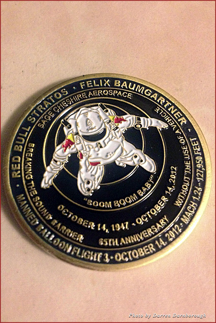 My exclusive Red Bull Challenge coin