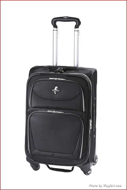 Atlantic Luggage Compass Unite suitcase is lightweight and expandable