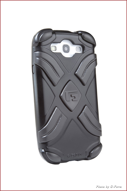 G-Form's XTREME case has three layers of shockproof protection