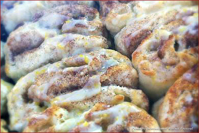 Cinnamon roll biscuits certainly qualify as the Sweet variety