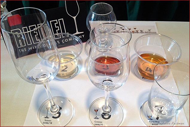 Stunning glassware at the Riedel Spirits Seminar