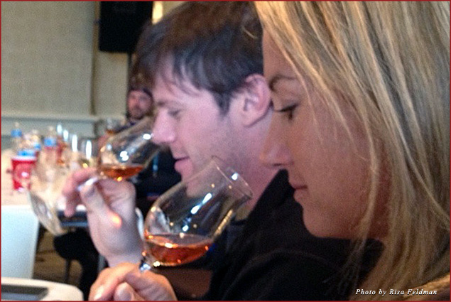 Wine tasting with Douglass Zilbermann