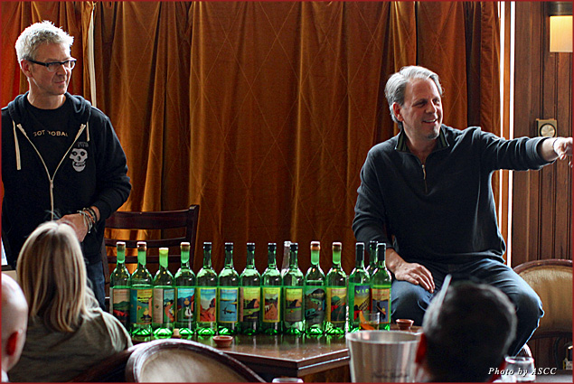 Cocktail expert Steve Olson and Jimmy Yeager host a mezcal seminar