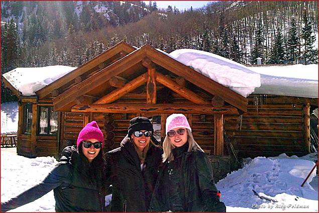 Drea Shenk, me, and Andrea Christina Valentino