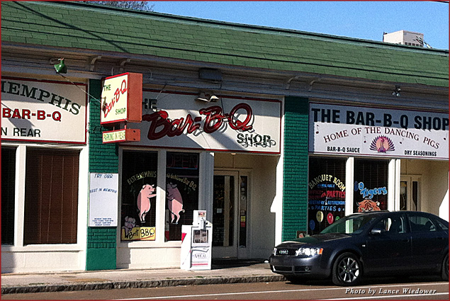The Bar-B-Q Shop's sandwich is often voted the city's No. 1