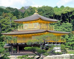 Kinkaku-ji (Golden Pavilion Temple) in Kyoto, Japan
