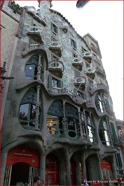 Barcelona's Casa Batlló showcase Gaudi architecture