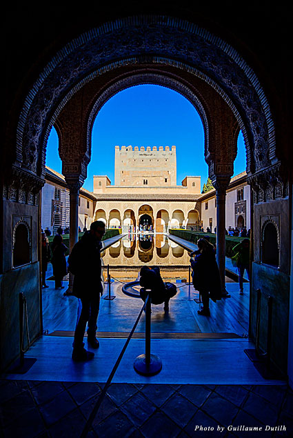 View of the Alhambra in Granada, Spain