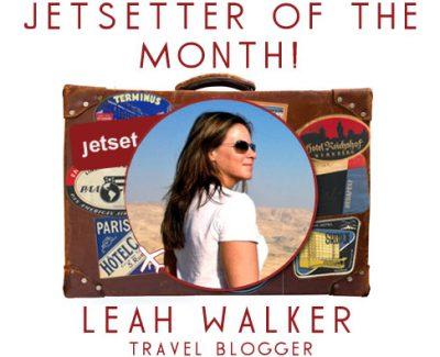 Jetsetter of the Month: Travel Blogger Leah Walker