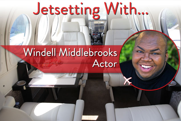 Jetsetting With Actor Windell Middlebrooks