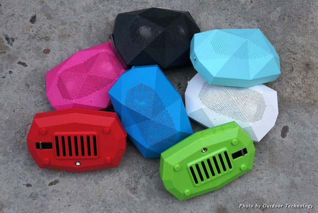 Get big sound from the little Turtle Shell speaker