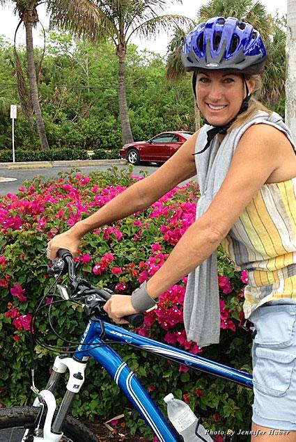 Biking around Port Charlotte