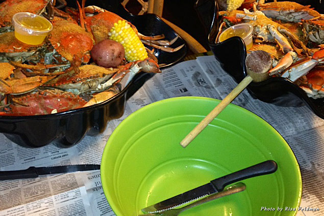 Blue Crabs from Peace River Seafood