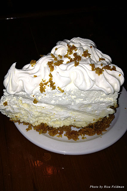 Key lime ice cream cake, Farlow's