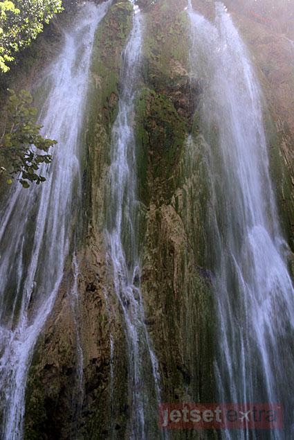 Salto El Limón waterfall in the Dominican Republic