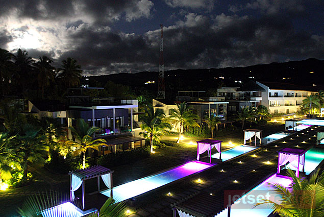 Sublime Samana at night in the Dominican Republic