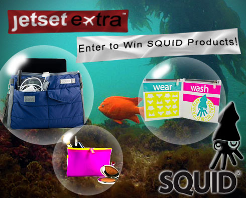 Enter to Win Samples From SQUID's New Travel Accessories Collection!
