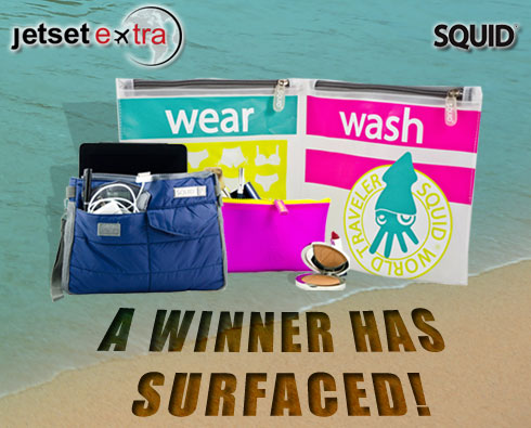 Announcing Our SQUID Travel Accessories Winner!