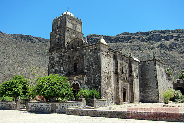 Mission San Javier, Loreto's second oldest mission, was founded in 1699