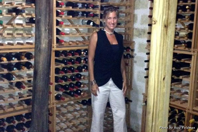 Inside the Coconut Grove wine cellar