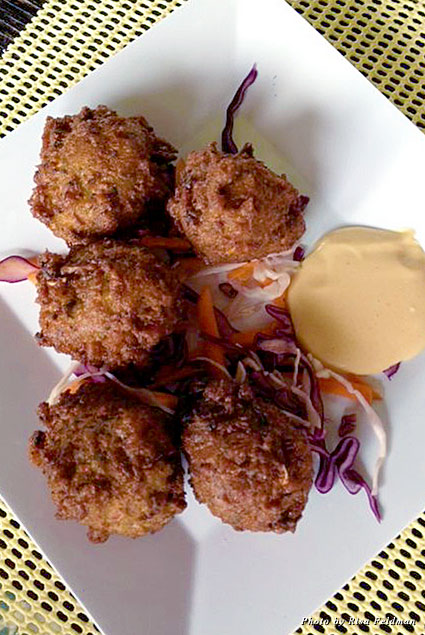 Conch Fritters at Sunshine's