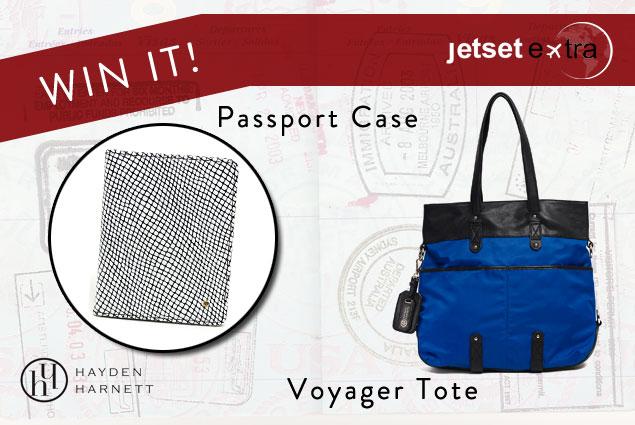 Win It! A Hayden-Harnett Tote and Passport Case