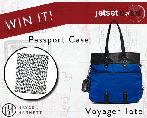 Win It! A Hayden-Harnett Tote and Passport Case