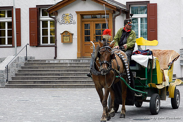 A horse-drawn carriage is a good way to see the sights