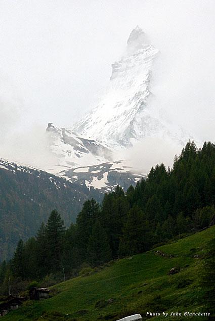 Matterhorn from the meadow below