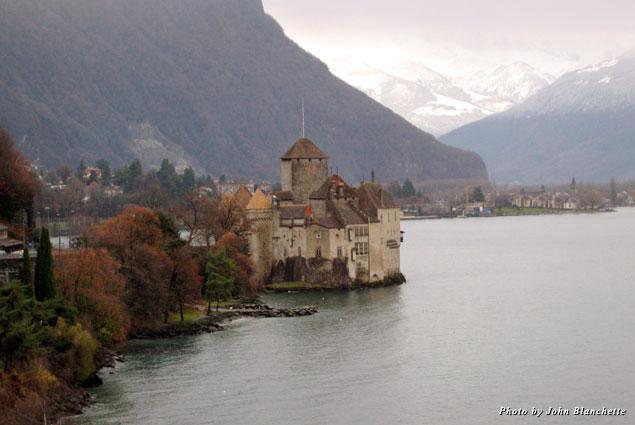 Chillon Castle in Montreux