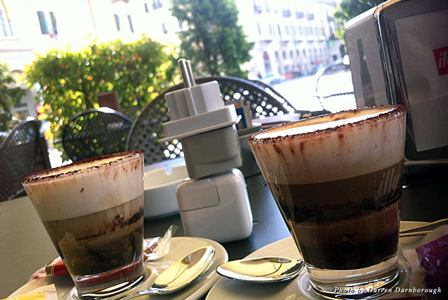 Coffee in Cuneo is such an art