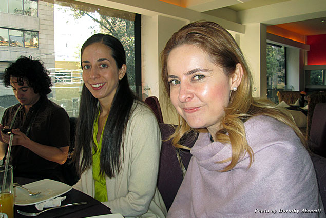 Jimenez and Connie are co-owners of Mexican Food Tours