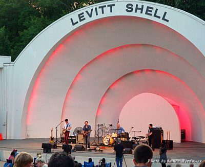One of the 30 free concerts during the spring season at the Levitt Shell in Memphis