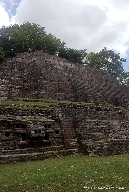 Majestic Maya ruins at Lamanai