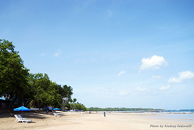 The surf-centric village of Tamarindo