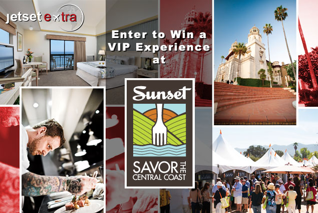 Enter to Win a VIP Experience at Sunset SAVOR the Central Coast