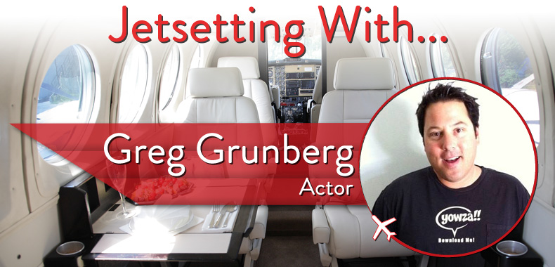 Jetsetting With Actor Greg Grunberg