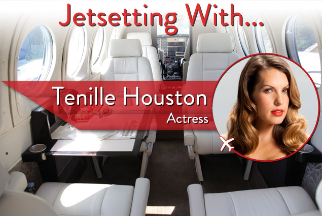 "Jetsetting With ""The Canyons"" Actor Tenille Houston"