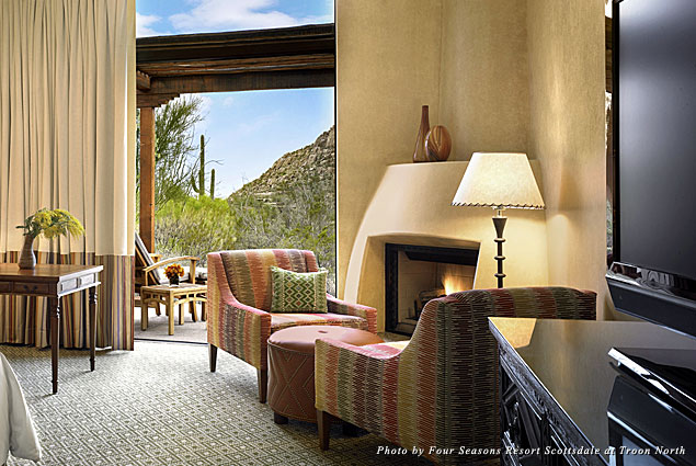 Rooms at Four Seasons Resort Scottsdale