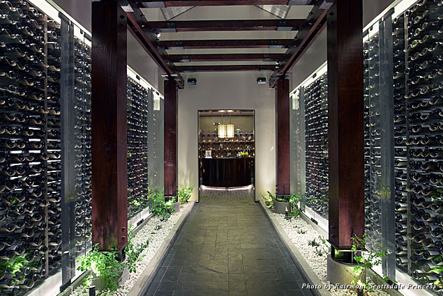 Bourbon Steak's Wine Cellar