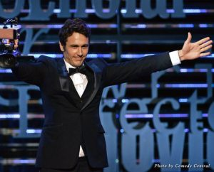 Writer/director/poet/documentary filmmaker Franco takes the stage at the Comedy Central Roast