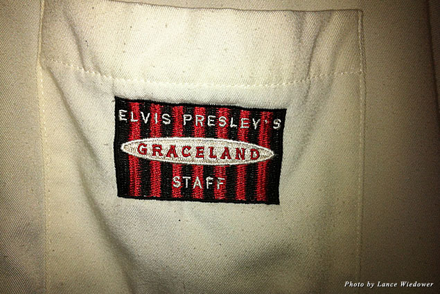 More than 16 years old this Graceland staff shirt is still in great shape