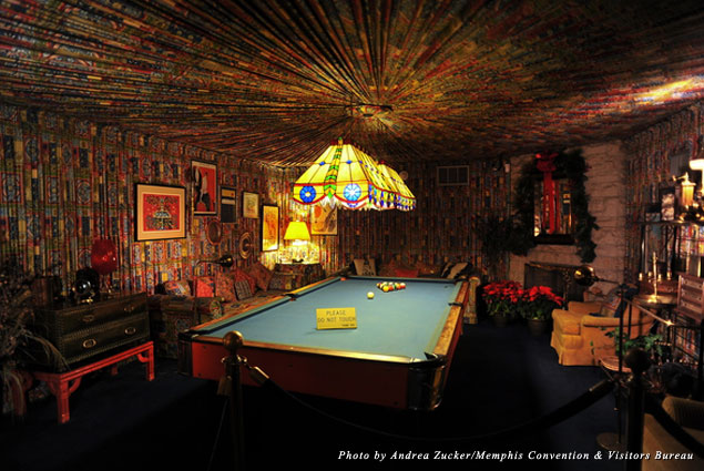 Who wouldn't want to play pool in this room?