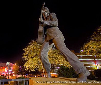 Elvis still reins supreme over Memphis' famed Beale Street