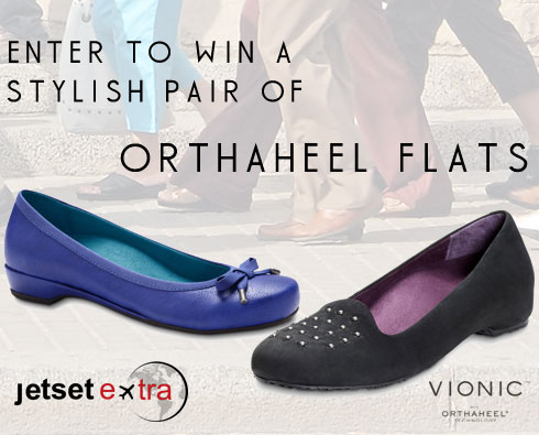Enter to Win a Stylish Pair of Orthaheel Flats!