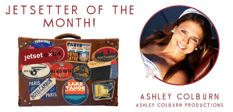 Jetsetter of the Month: Ashley Colburn