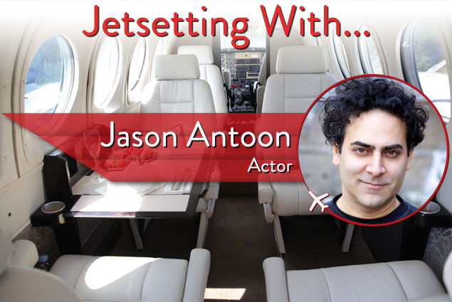 Jetsetting With Actor Jason Antoon